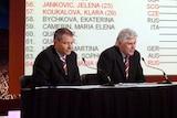 Paul McNamee at the 2006 Australian Open draw