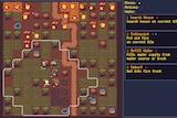 A screenshot of a 2D game called Bushfire Rescue Tactics.