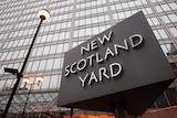 New Scotland Yard police headquarters in London, January 27, 2011.