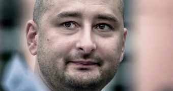Journalist and Kremlin critic Arkady Babchenko.
