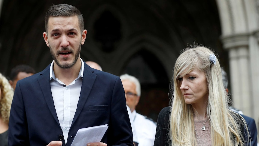 Charlie Gard's parents speak at end of UK legal battle