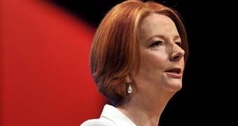 Gillard address Labor Party conference