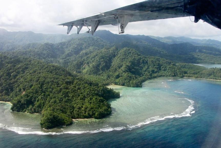 Solomon Islands by air