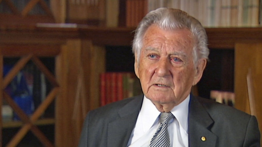 Bob Hawke discusses release of cabinet papers