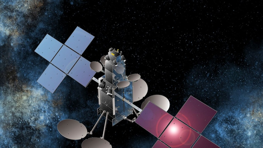 A second satellite was launched into space last October.
