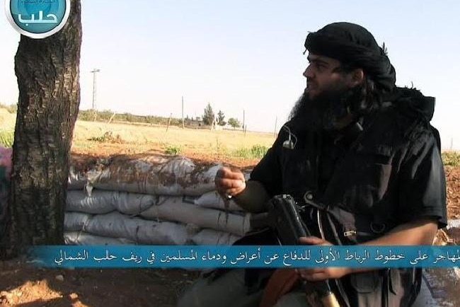 Abu Sulayman pictured in 2014