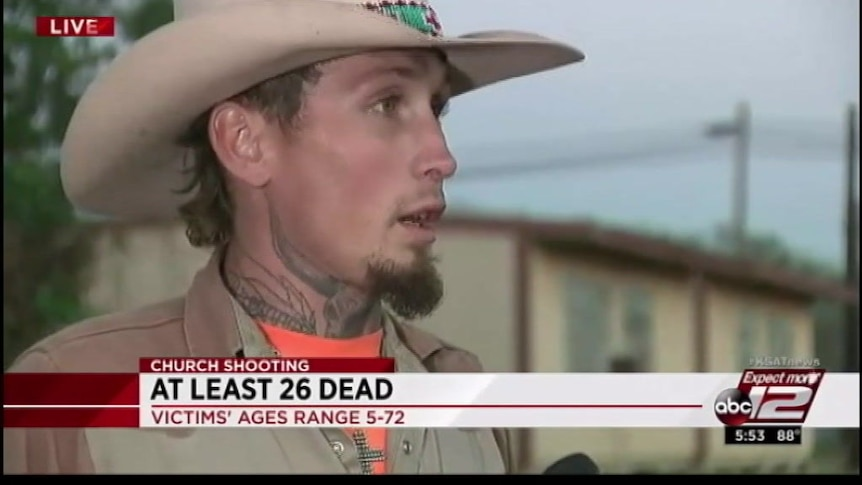 Witness describes chasing church shooter Devin Kelley