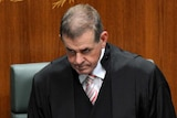Slipper robes up for Parliament