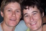 Alice Springs residents Claire Hockridge, 46, Tamra McBeath-Riley, 52, November 23, 2019.