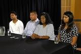 The families of Andrew Chan and Myuran Sukumaran