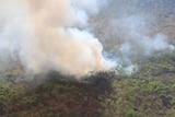 Kakadu bushfire