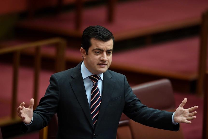Labor Senator Sam Dastyari