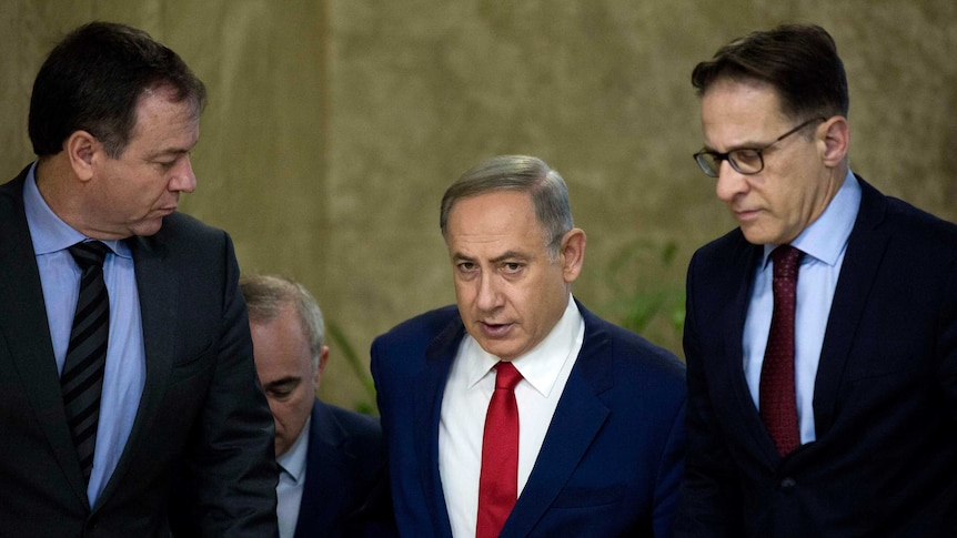 Israel's prime minister and several members of his government