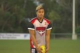 Tasmanian footballer Toutai Havea