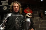 man in medieval armour