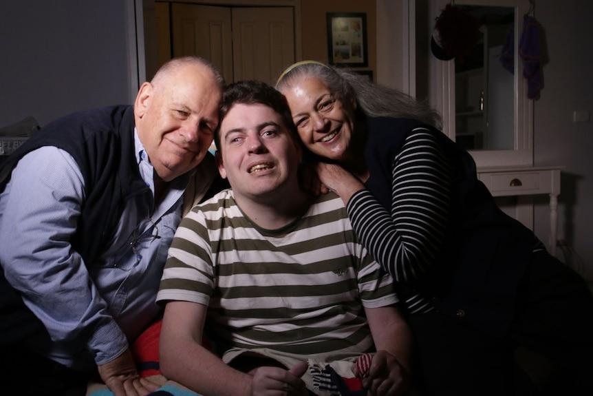 The Goddard family have been 'relentlessly positive' in light of Sam's strokes.