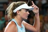Coco Vandeweghe shows her anger at Australian Open