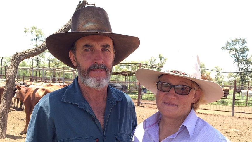Graziers Bruce and Annette Currie