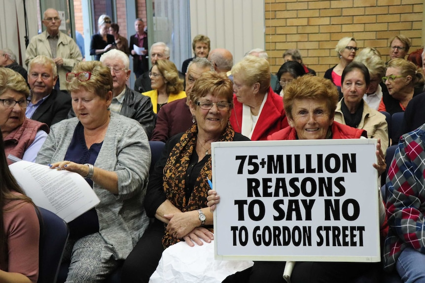 community members against Coffs Harbour Cultural and Civic Space proposal.