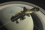 Cassini Over the Top (Illustration)