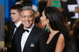 Actor George Clooney has embraced grey hair for many years now.