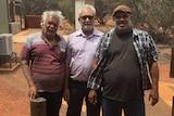 Donald Fraser, David Ross and Sammy Wilson