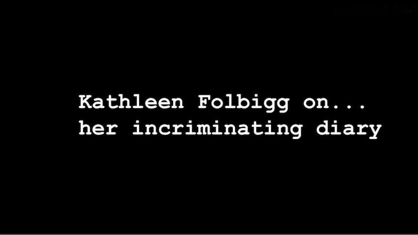 LISTEN TO THE PHONE CALL: Kathleen Folbigg explains her diary entries.