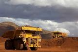 Driverless trucks at  West Angelas Mine