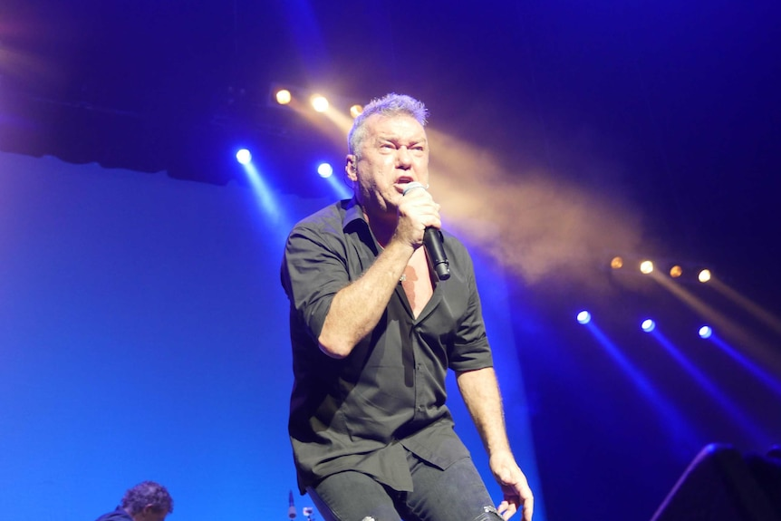 Jimmy Barnes performs at Sydney Entertainment Centre.