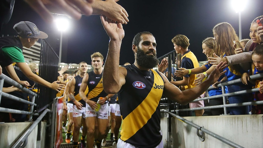 Bachar Houli and Tigers fans.jpg