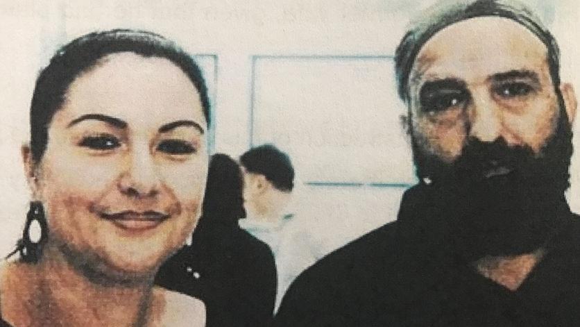 Amirah Droudis and Man Haron Monis.