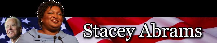 Stacey Abrams VP Banner