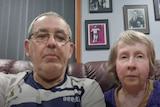 Nick and Marion London address the memorial from their home in Sydney