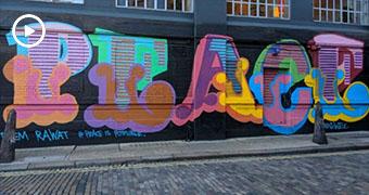 Street art — the next space race?
