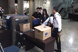 Lawyer Inneke Kusuma arrives at the Indonesian constitutional court with evidence to support latest challenge on Thursday April 9, 2015.