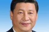 A head shot of Xi Jinping.