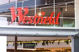 Signage saying Westfield at the Westfield North Lakes shopping centre.