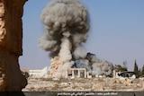 Destruction of Palmyra's Baal Shamin temple