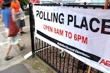 Voter gets in early