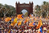 Mass rally for Catalan independence in Barcelona
