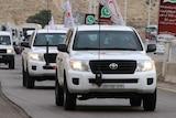 Aid convoy en route to Syria's Madaya