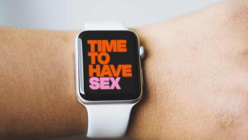 Watch that says 'time to have sex' for a story on keeping sex fun while trying to get pregnant