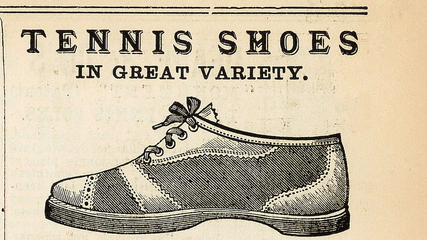 The history of the sports shoe