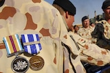 Australian soldiers awarded campaign medals