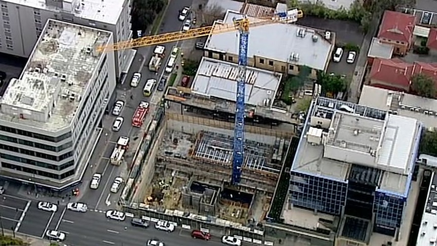 Workers injured on Melbourne construction site