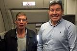 EgyptAir hijacker Seif Eldin Mohamed Mustafa poses with British passenger Ben Innes.
