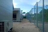 Fencing around Nauru's Regional Processing Centre 3