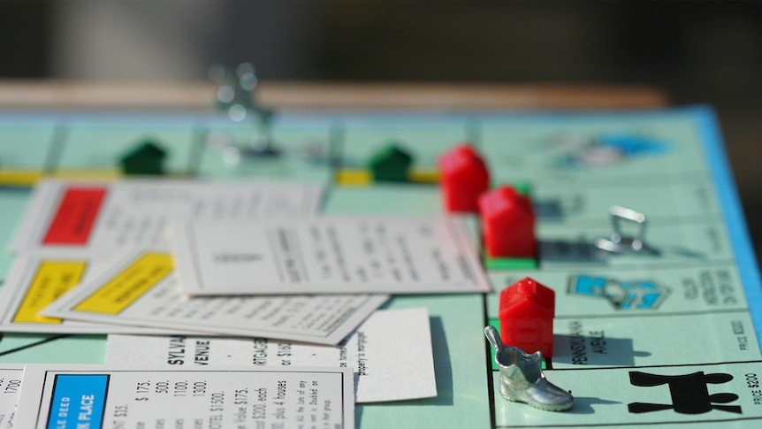 The iconic family board game, Monopoly.