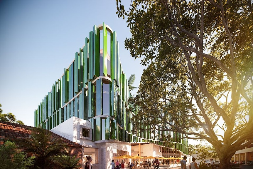 Image of planned Cultural and Civic Space for Coffs Harbour