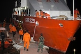 Indonesian teams search for missing submarine